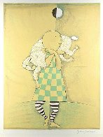 Girl With Goat 1978 Limited Edition Print by Graciela Rodo Boulanger - 1