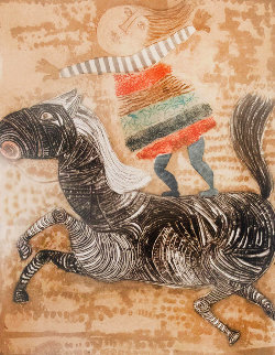 Boy on Horse 1980 Limited Edition Print by Graciela Rodo Boulanger
