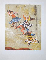 On the Swings Limited Edition Print by Graciela Rodo Boulanger - 1