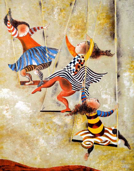 On the Swings Limited Edition Print by Graciela Rodo Boulanger