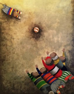On the Swings and Jue Du Ballons - Set of 2 Limited Edition Print by Graciela Rodo Boulanger
