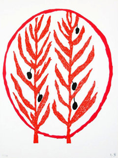 Art for Peace 2004 Limited Edition Print - Louise Bourgeois