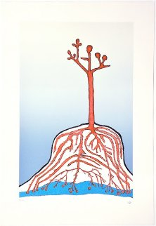 Ainu Tree PP 1999  Limited Edition Print - Louise Bourgeois
