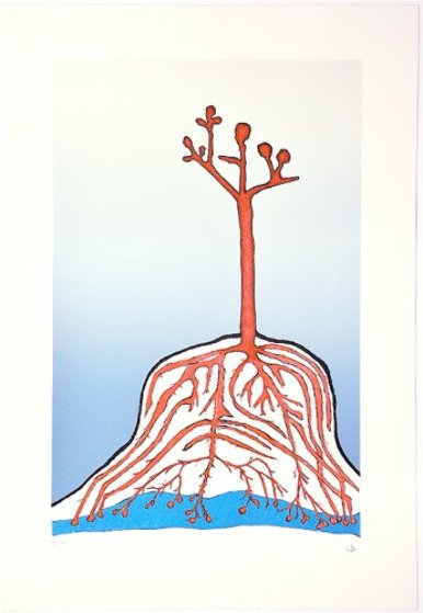 Ainu Tree PP 1999  Limited Edition Print by Louise Bourgeois