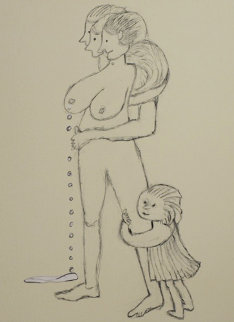 Bad Mother 1998 Limited Edition Print - Louise Bourgeois