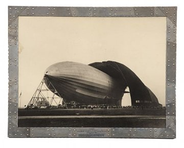 U.S.S. Akron 1931 Photography - Margaret Bourke-White