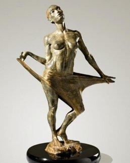Clarity Bronze Sculpture 20 in Sculpture by Paige Bradley