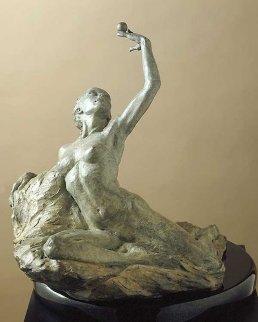 Breath Bronze Sculpture 13 in  Sculpture by Paige Bradley