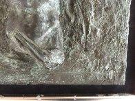 Female Fragment Triptych Bronze Sculpture 2001 12x25 Sculpture by Paige Bradley - 4