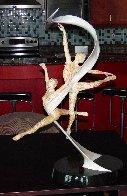 International Ballet Award Bronze Sculpture 2006 35 in. Sculpture by Paige Bradley - 1