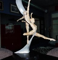 International Ballet Award Bronze Sculpture 2006 35 in. Sculpture by Paige Bradley - 4