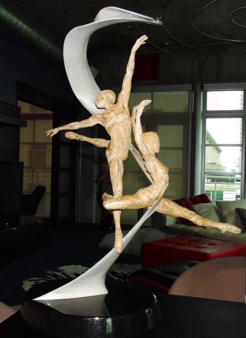 International Ballet Award Bronze Sculpture 2006 35 in. Sculpture by Paige Bradley