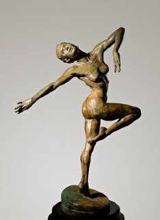 Summer Bronze Sculpture 2006 21 in Sculpture by Paige Bradley