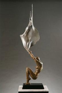 Conception Bronze Sculpture 2005 34 in Sculpture by Paige Bradley