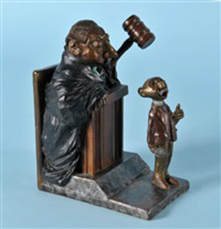 Objection Overruled Bronze Sculpture FP 7 in Sculpture by Charles Ray Bragg