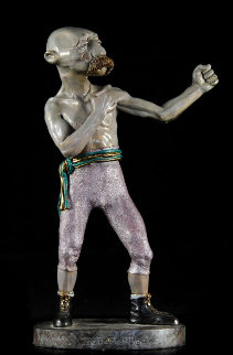 Belfast Tiger Bronze Sculpture FP1989 12 in Sculpture - Charles Ray Bragg