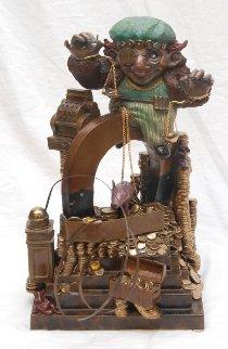 Midas Bronze Sculpture 1989 17 in Sculpture by Charles Ray Bragg