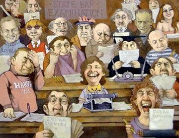 Bar Exam AP 1988 Limited Edition Print - Charles Ray Bragg