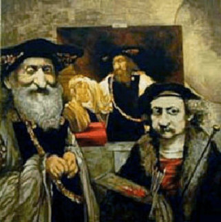 Rembrandt 1989 Limited Edition Print by Charles Ray Bragg