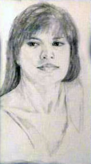 Monique Drawing 2009 Drawing - Charles Ray Bragg