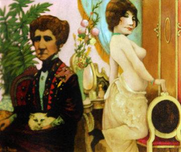 Madam 17x19 Original Painting - Charles Ray Bragg