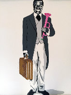 Louis Armstrong Limited Edition Print by Mr. Brainwash - 0