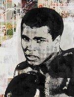 Ali 2014 45x56 Original Painting by Mr. Brainwash - 0