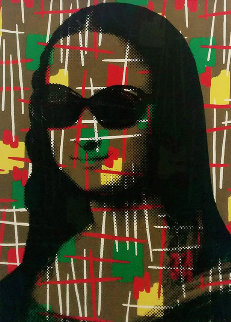 Vintage Mona Lisa Limited Edition Print by Mr. Brainwash