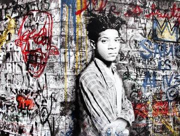 Samo is Alive 2016 (Portrait of Jean-Michel Basquiat) Limited Edition Print - Mr. Brainwash