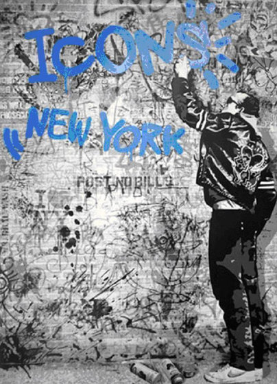 Icons New York (Homage to Keith Haring) 2009 Limited Edition Print by Mr. Brainwash