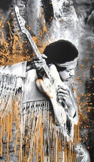 Jimi Hendrix 2013 Limited Edition Print by Mr. Brainwash