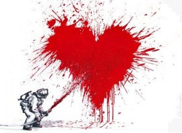 Love to the Rescue 2013 Limited Edition Print - Mr. Brainwash