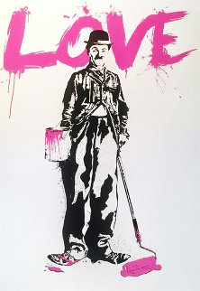 Love 2010 Limited Edition Print - Mr. Brainwash