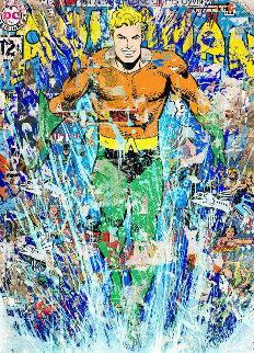 Aquaman 2018 Limited Edition Print by Mr. Brainwash
