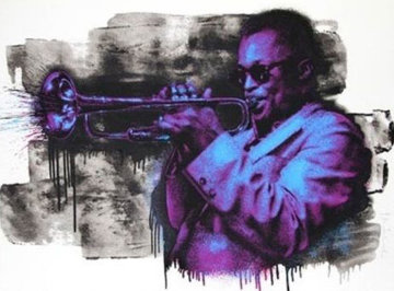 Miles Davis 2015 Limited Edition Print - Mr. Brainwash