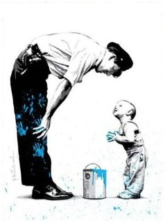Not Guilty 2011 Limited Edition Print by Mr. Brainwash