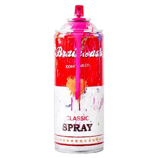 Spray Can Pink 2013 Sculpture - Mr. Brainwash