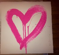 Love Heart - Red And Pink Matching Set 2017 Limited Edition Print by Mr. Brainwash - 2