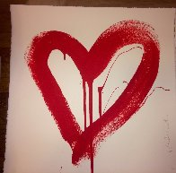 Love Heart - Red And Pink Matching Set 2017 Limited Edition Print by Mr. Brainwash - 4