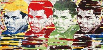 Ali Quad Largest Graphic 2014 37x70 Limited Edition Print - Mr. Brainwash