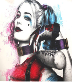 Harley, Suicide Squad  Limited Edition Print by Mr. Brainwash