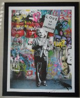 Love is the Answer 2012 Embellished Super Huge Limited Edition Print by Mr. Brainwash - 1