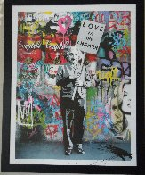 Love is the Answer 2012 Embellished Huge Limited Edition Print by Mr. Brainwash - 2