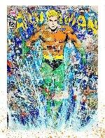 Aquaman 2018 Huge  Limited Edition Print by Mr. Brainwash - 1