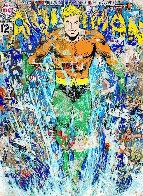 Aquaman (Handfinsihed) 2018 Super Huge  Limited Edition Print by Mr. Brainwash - 0