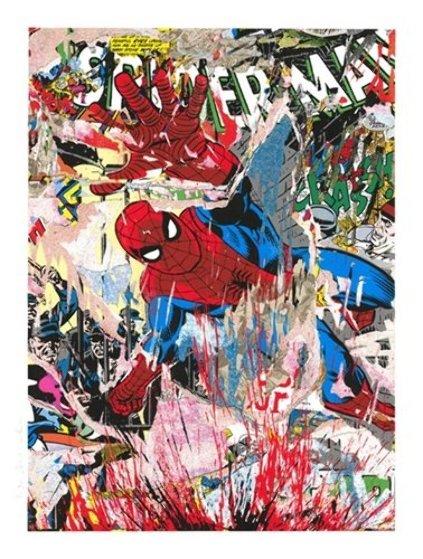 Spiderman 2019 Limited Edition Print by Mr. Brainwash