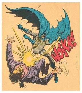 Bat-wockk 2019 41x45 Huge  Limited Edition Print - Mr. Brainwash