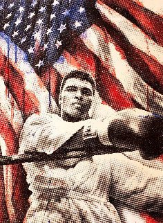 American Hero (Diamond Dust) 2019 Embellished Limited Edition Print by Mr. Brainwash