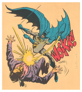 Batman Bat-Wockk  2019 Limited Edition Print - Mr. Brainwash