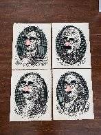 Incognito President's Day, Set of 4 Screenprints  2019 Limited Edition Print by Mr. Brainwash - 1